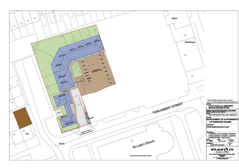 Land Commercial for sale in Parliament Street, Derby