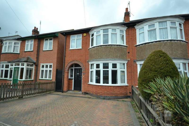3 Bedrooms Semi Detached House for sale in Northdene Road, Leicester