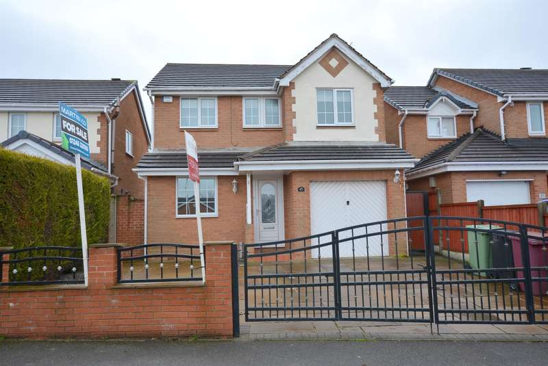 4 Bedrooms Detached House for sale in Hambleton Avenue, North Wingfield, Chesterfield, S42