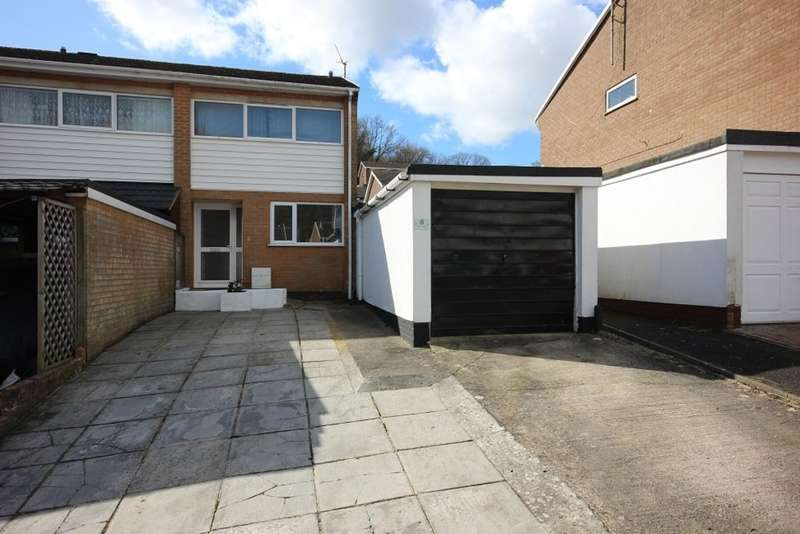 2 Bedrooms End Of Terrace House for sale in The Warren, Newton Abbot