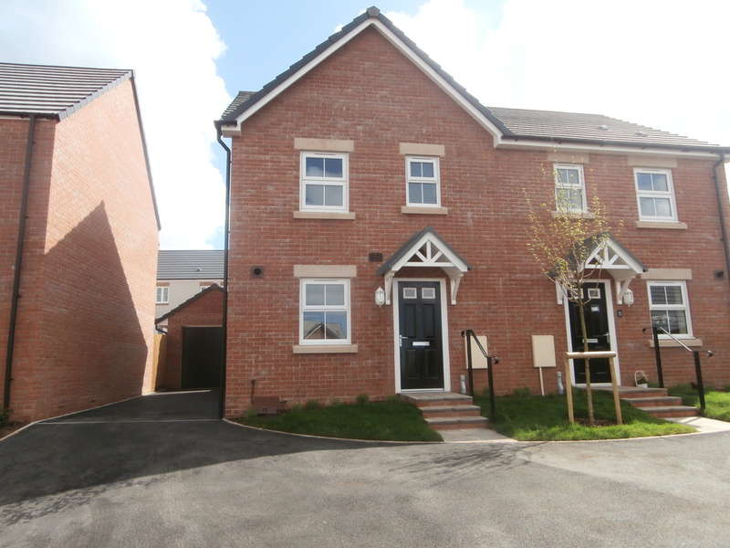 3 Bedrooms Semi Detached House for rent in Gerdd'r Briallau,Pentref Newydd, Coity, Bridgend County Borough, CF35 6FR