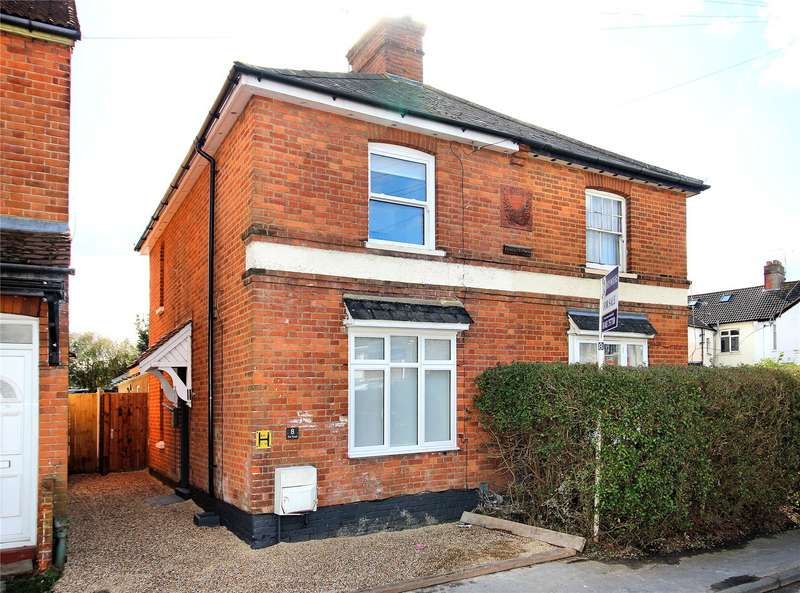 3 Bedrooms Semi Detached House for sale in Eve Road, Woking, Surrey, GU21