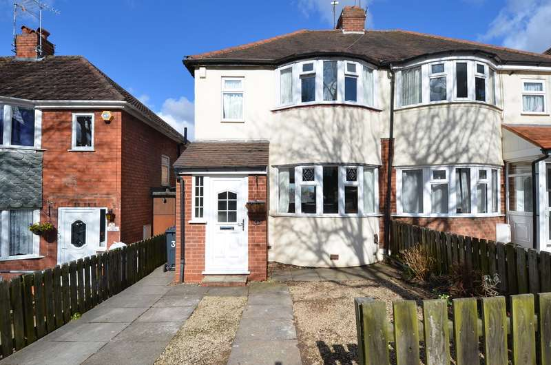 3 Bedrooms Semi Detached House for sale in Marsham Road, Kings Heath , Birmingham, B14