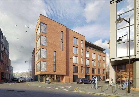 Flat for sale in Russell Street, Kelham Island, Sheffield