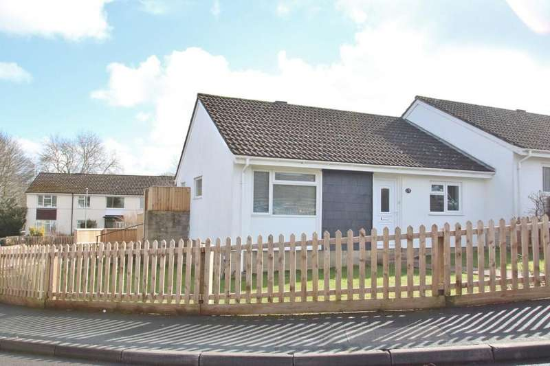 2 Bedrooms Semi Detached Bungalow for sale in Folliott Road, Glastonbury