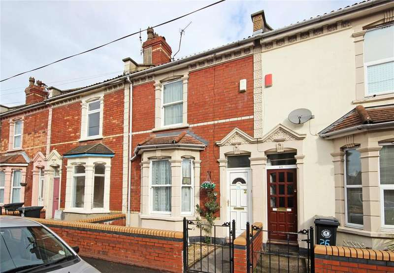 2 Bedrooms Terraced House for sale in Stafford Road, St. Werburghs, Bristol, BS2