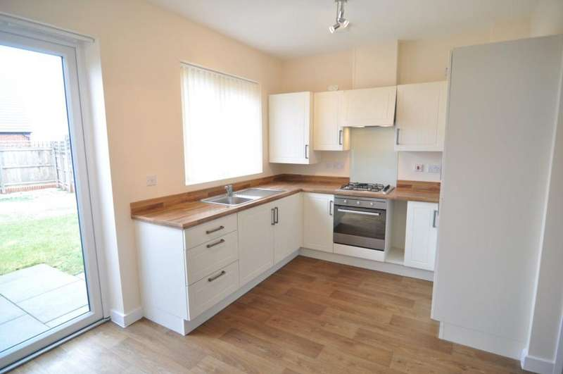 2 Bedrooms Town House for rent in Brearley Drive, Sheffield