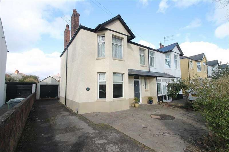 3 Bedrooms Semi Detached House for sale in Heathwood Road, Cardiff