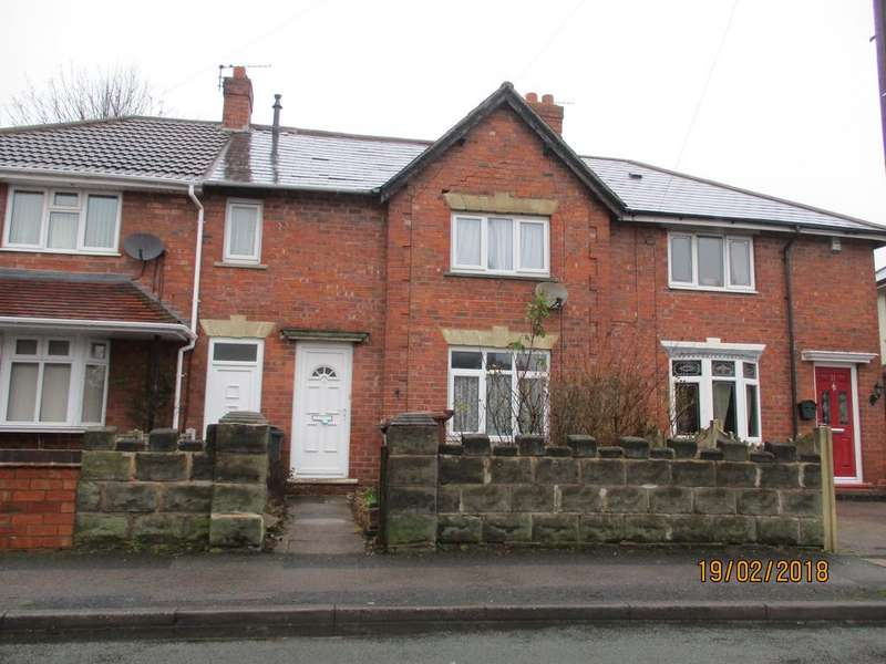 2 Bedrooms Terraced House for sale in 19 Smith Road, Walsall, WS2 9DJ (Auction Monday 26th March 2018)