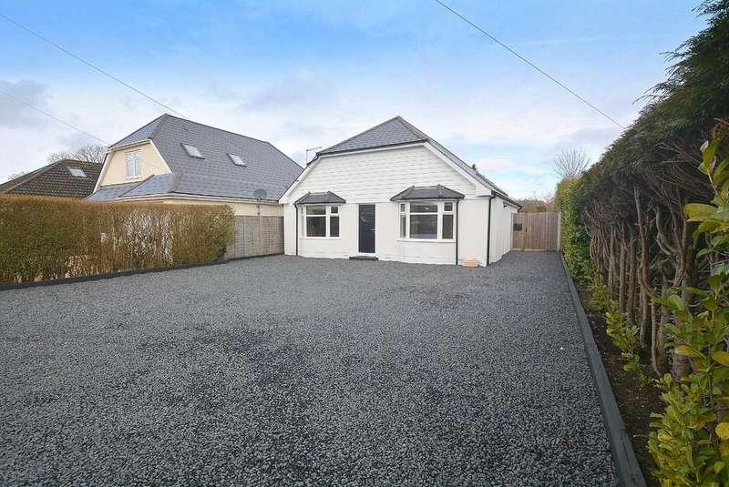 2 Bedrooms Detached Bungalow for sale in Wimborne Road West, WIMBORNE