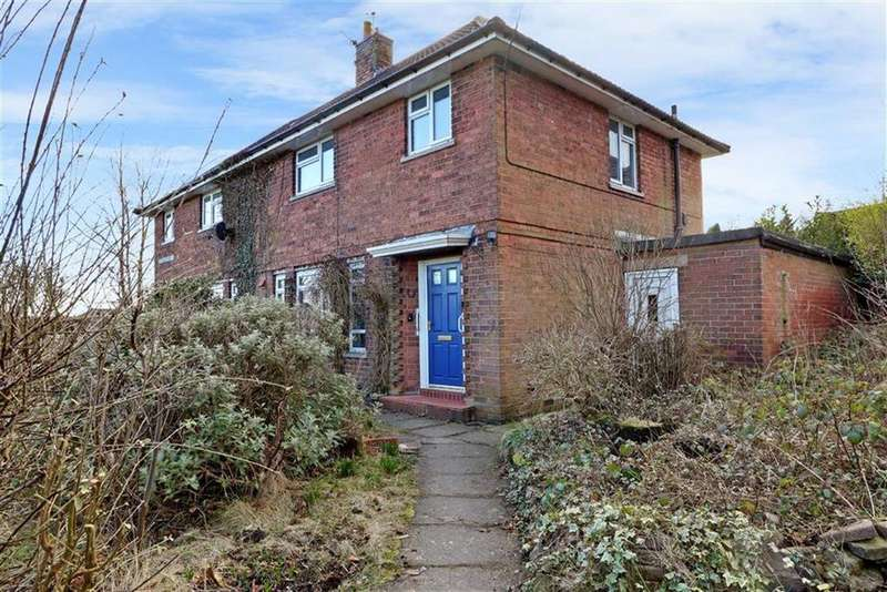 3 Bedrooms Semi Detached House for sale in Church Lane, Mow Cop, Stoke-on-Trent