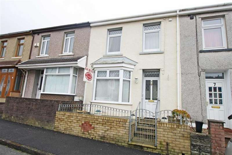 3 Bedrooms Terraced House for sale in Broniestyn Terrace, Hirwaun, Aberdare, Mid Glamorgan