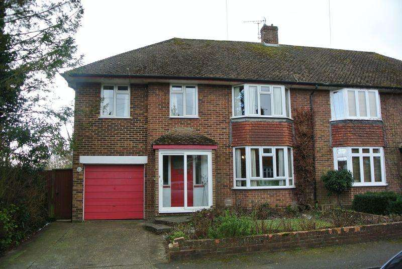 5 Bedrooms Semi Detached House for sale in Juniper Close, Canterbury