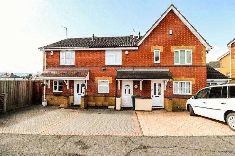 2 Bedrooms Terraced House for sale in Mansion Drive, Tipton