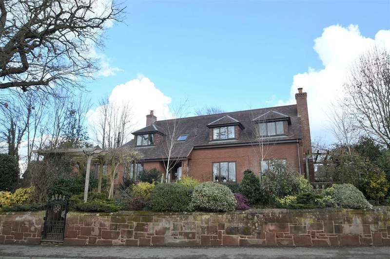 4 Bedrooms Detached House for sale in The Brambles, Harmer Hill, Shrewsbury, SY4 3EB