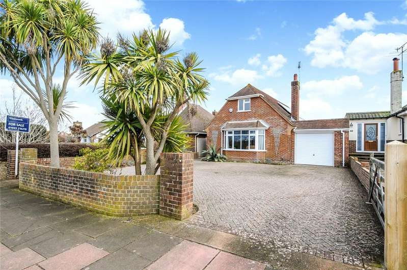 3 Bedrooms Detached Bungalow for sale in Compton Avenue, Goring-by-Sea, Worthing, West Sussex, BN12