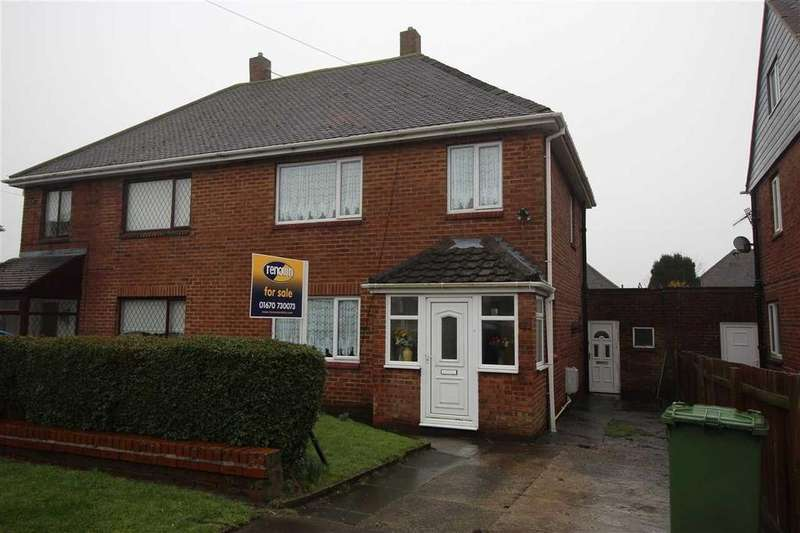 3 Bedrooms Semi Detached House for sale in Chatton Avenue, Mayfield Glade, Cramlington