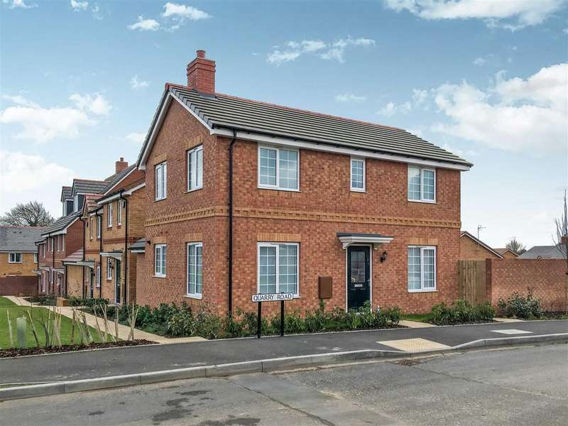 3 Bedrooms Detached House for rent in Quarry Road, Southam