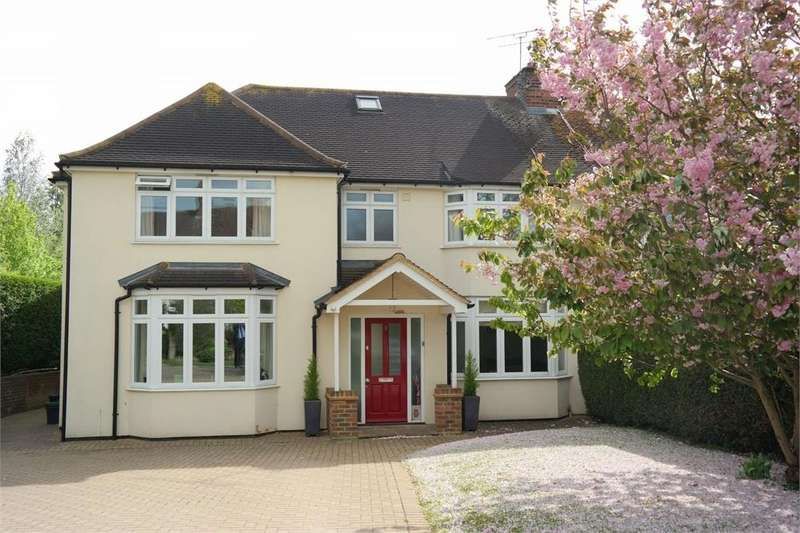 5 Bedrooms Semi Detached House for rent in St Helier Road, Sandridge, St Albans, Hertfordshire