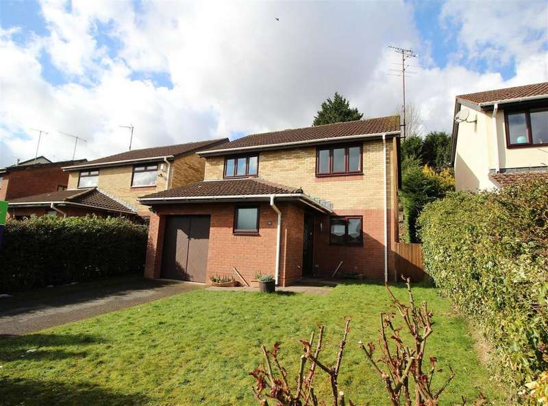 4 Bedrooms Detached House for sale in Ffos-Y-Fran, Bassaleg, Newport