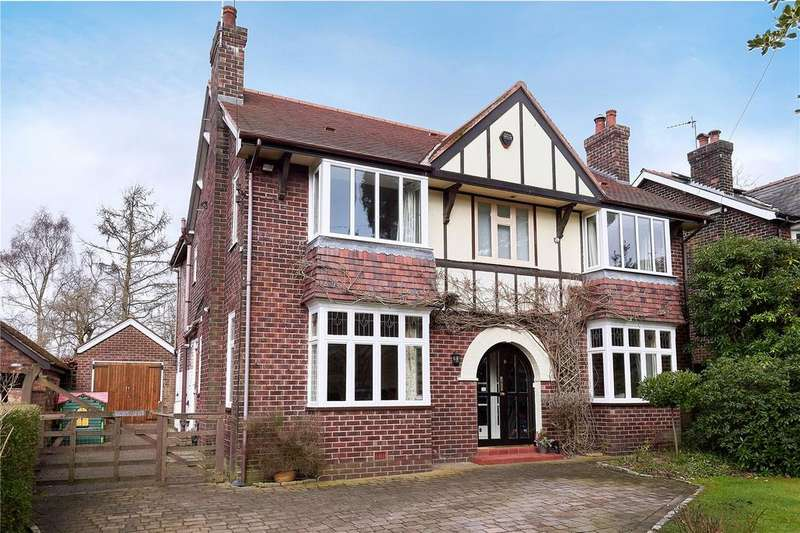 4 Bedrooms Detached House for sale in Moss Road, Alderley Edge, Cheshire, SK9