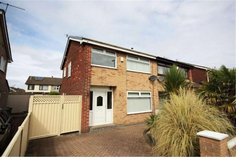 3 Bedrooms Semi Detached House for sale in Beech Avenue, Clock Face, St Helens, WA9