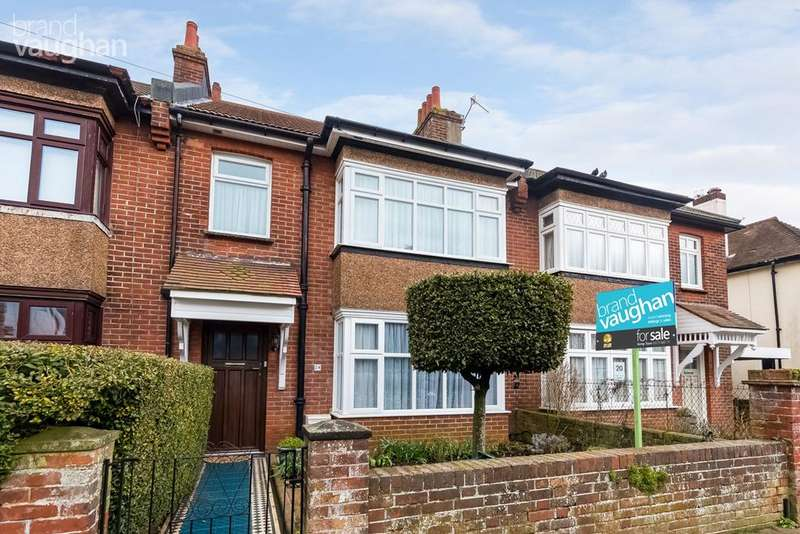3 Bedrooms Terraced House for sale in Reigate Road, Brighton, BN1