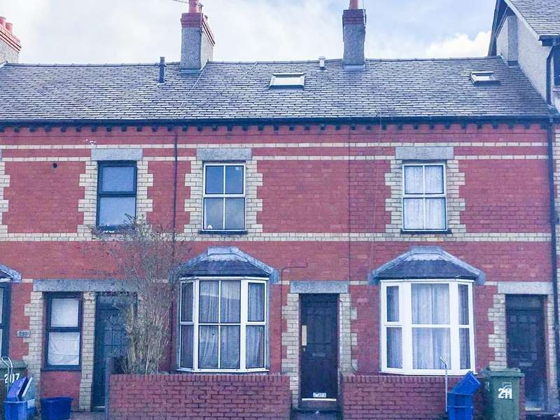 3 Bedrooms Terraced House for sale in Caernarfon Road, Bangor, North Wales