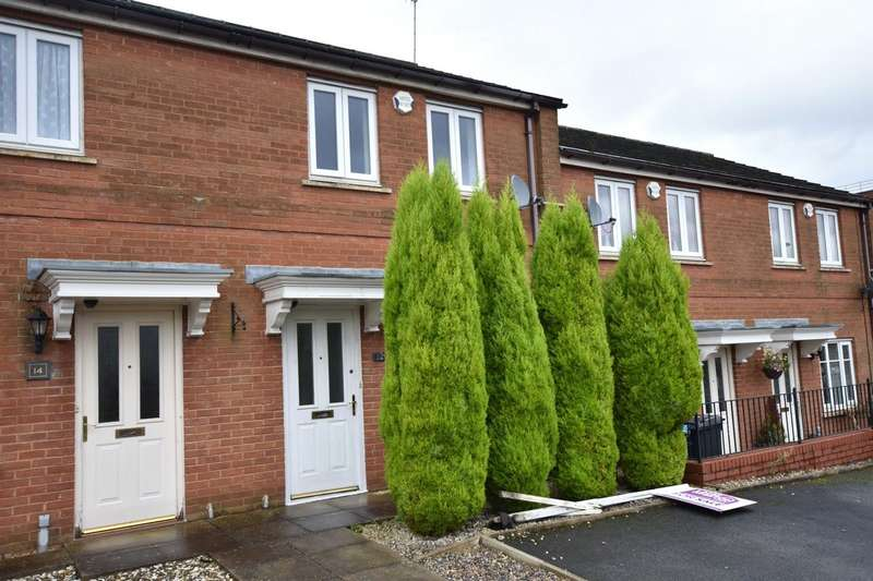 2 Bedrooms Terraced House for sale in Clubhouse Close, Shaw, Oldham, Greater Manchester, OL2