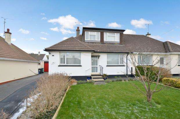 3 Bedrooms Semi Detached Bungalow for sale in Coles Lane, Kingskerswell, Newton Abbot, Devon