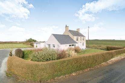3 Bedrooms Detached House for sale in Lon Groesffordd, Edern, Pwllheli, Gwynedd, LL53
