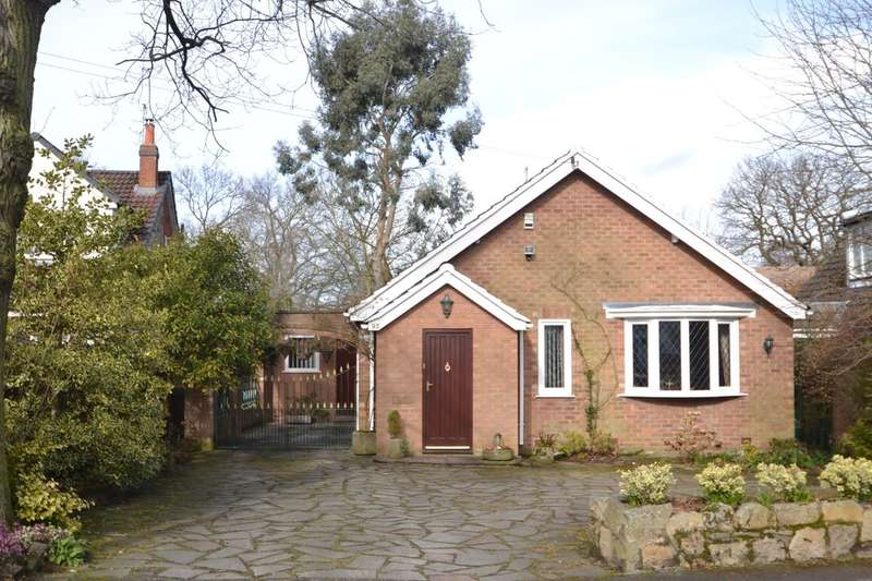 2 Bedrooms Detached Bungalow for sale in Moss Lane, Bramhall
