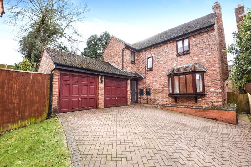 4 Bedrooms Detached House for sale in Duston Wildes, Northampton