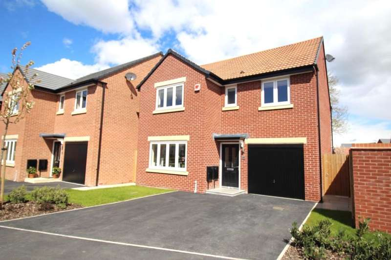 4 Bedrooms Detached House for sale in Lime Avenue, Sapcote, Leicester, LE9
