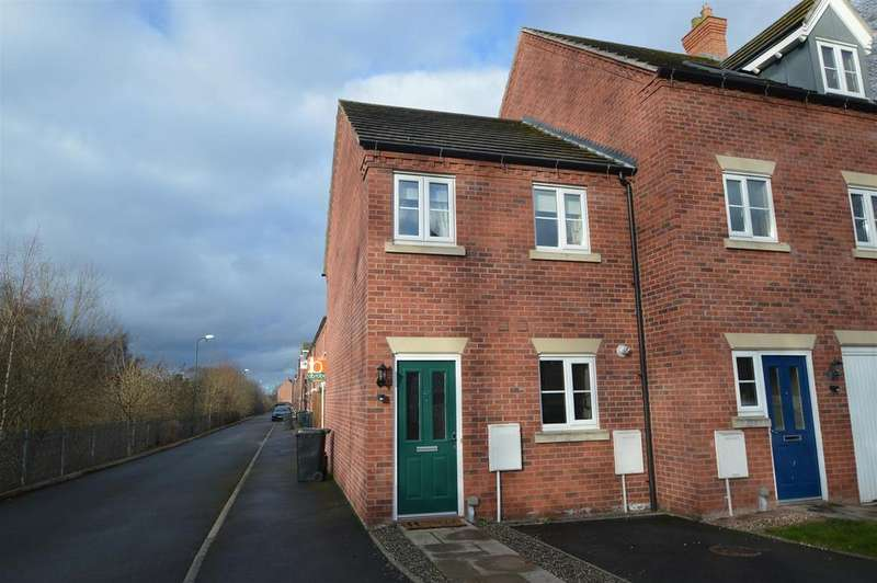 2 Bedrooms Semi Detached House for sale in 45 Sutton Bridge, Shrewsbury, SY3 7RT