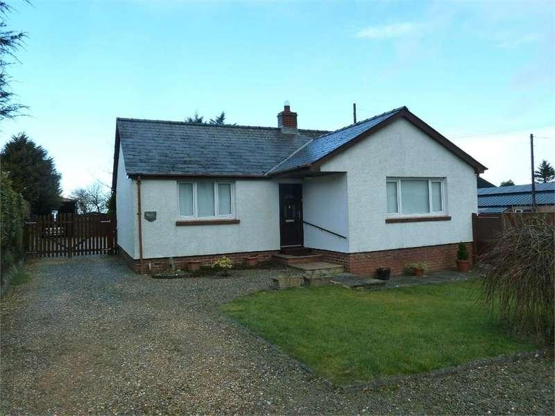 2 Bedrooms Detached Bungalow for sale in Marlais, Sarnau, Llandysul, Ceredigion
