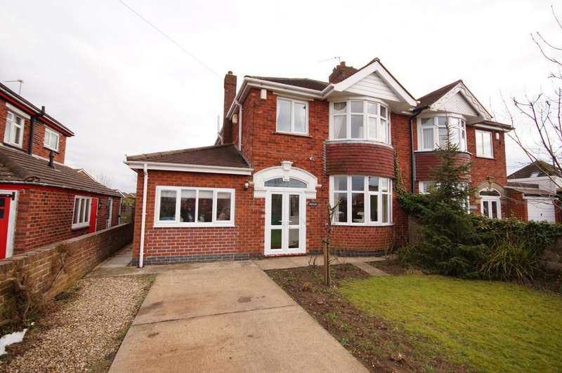 3 Bedrooms Semi Detached House for sale in Lincoln Road, Lincoln