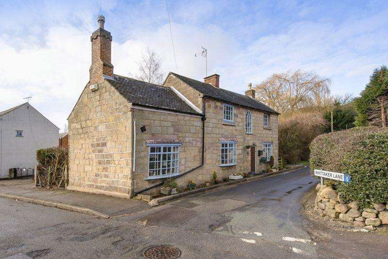 4 Bedrooms Detached House for sale in Willow Cottage, Whittaker Lane, Little Eaton