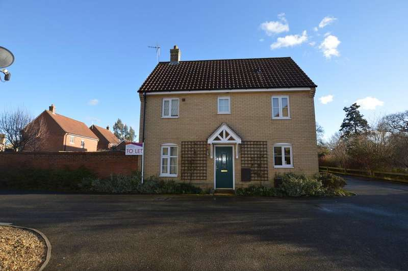3 Bedrooms Detached House for rent in Mead Road, Bury St. Edmunds