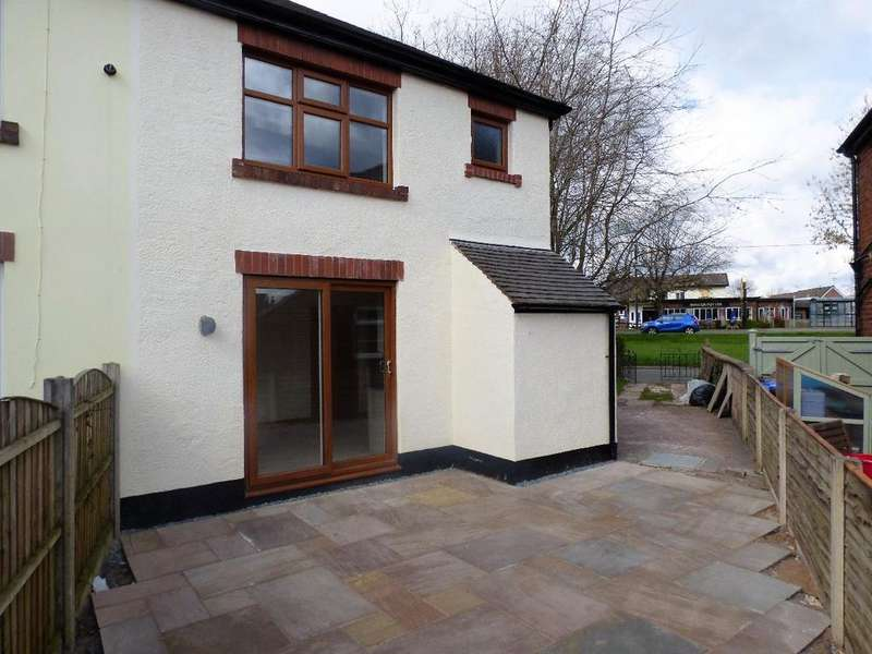 2 Bedrooms Semi Detached House for rent in Tean Road, Cheadle, Stoke-on-Trent, ST10 1LS