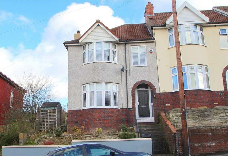 3 Bedrooms End Of Terrace House for sale in Redcatch Road, Knowle, BRISTOL, BS3