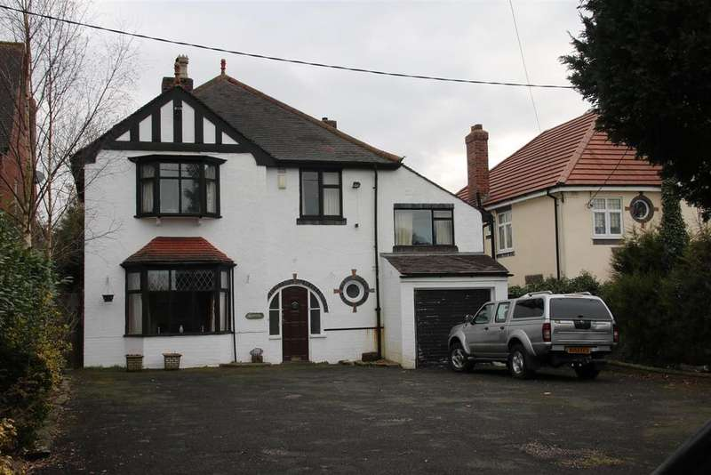 4 Bedrooms Detached House for sale in Sutton Road, Mile Oak, Tamworth