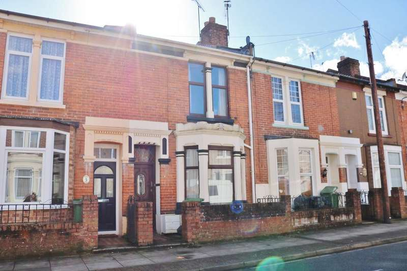 3 Bedrooms Terraced House for sale in Victor Road, Portsmouth