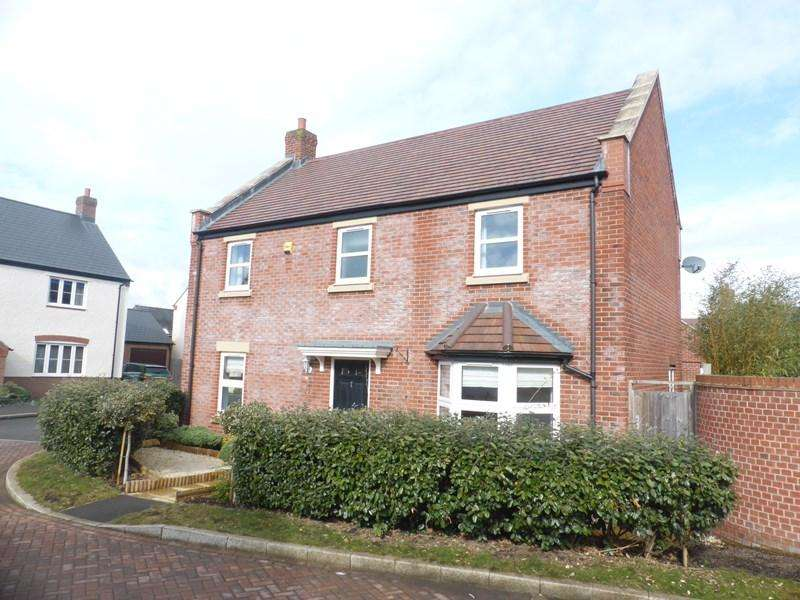 4 Bedrooms Detached House for sale in Fothersway Close, Badsey, Evesham