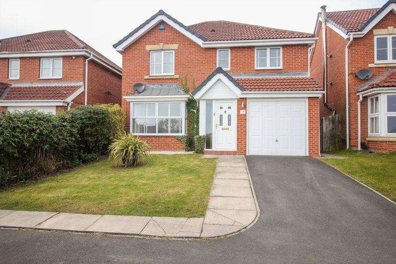4 Bedrooms Detached House for sale in Kirkstone Close, Blaydon