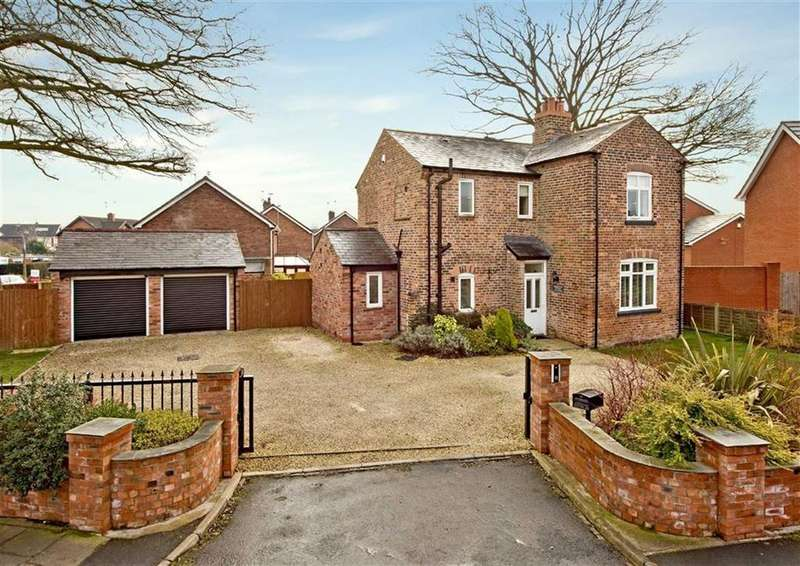 3 Bedrooms Detached House for sale in Springfield Cottage, 111, Taunton Avenue, Fordhouses, Wolverhampton, WV10