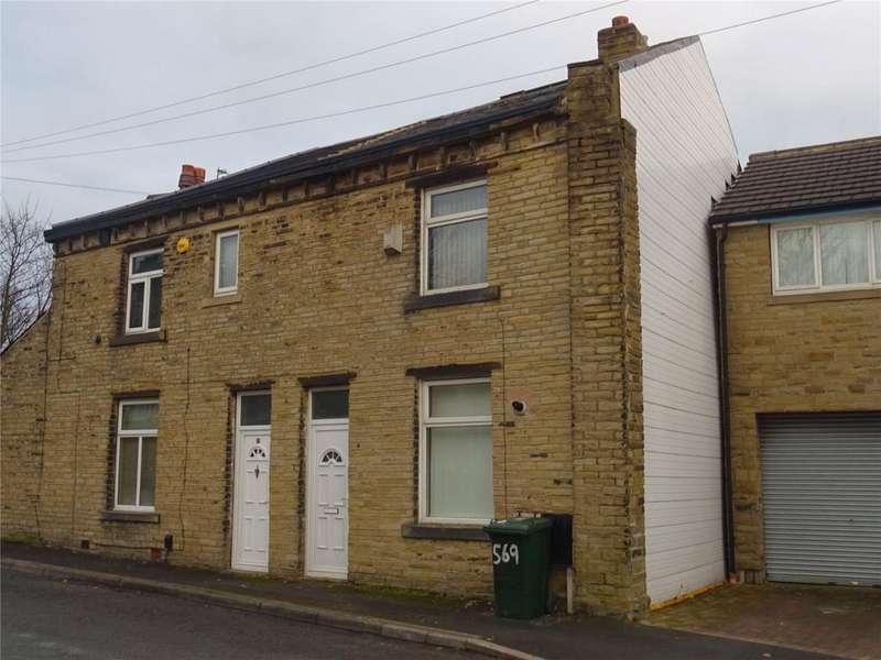 2 Bedrooms Terraced House for sale in Huddersfield Road, Wyke, Bradford, West Yorkshire, BD12