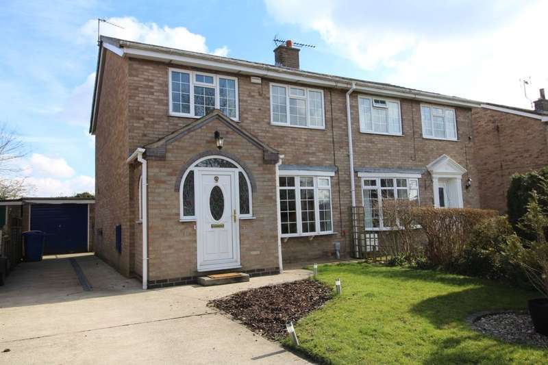 3 Bedrooms Semi Detached House for rent in Beech View, Cranswick, Driffield, YO25