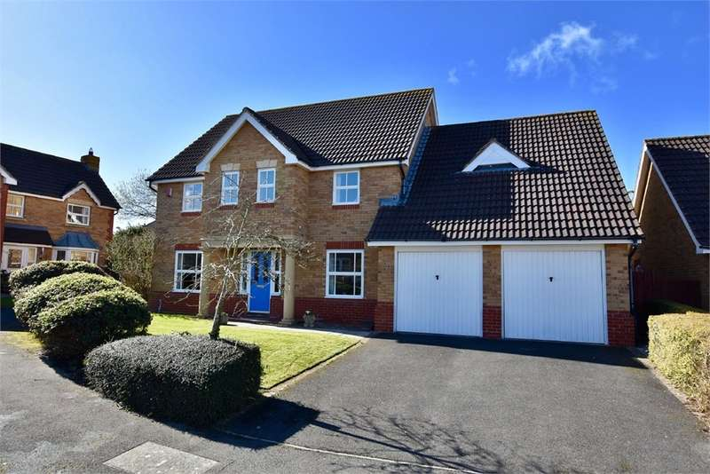 4 Bedrooms Detached House for sale in Green Pastures Road, Wraxall, Bristol, North Somerset