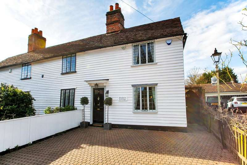2 Bedrooms End Of Terrace House for sale in DICKENS COTTAGE, HIGH ROAD, CHIGWELL